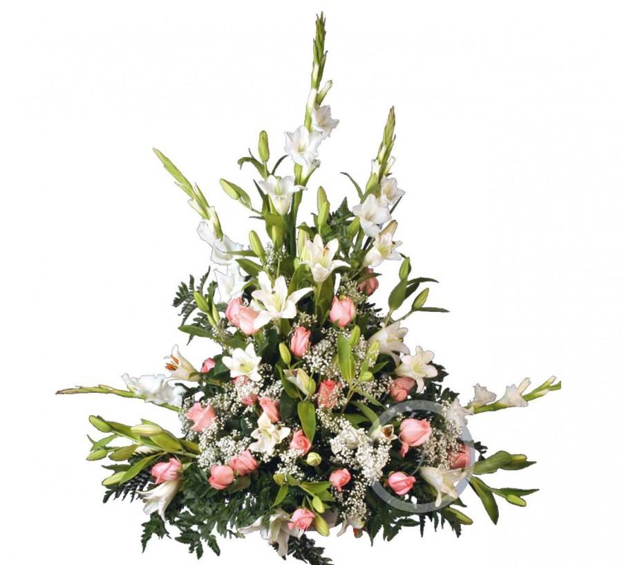 Centro Floral Funerario de Rosas y...