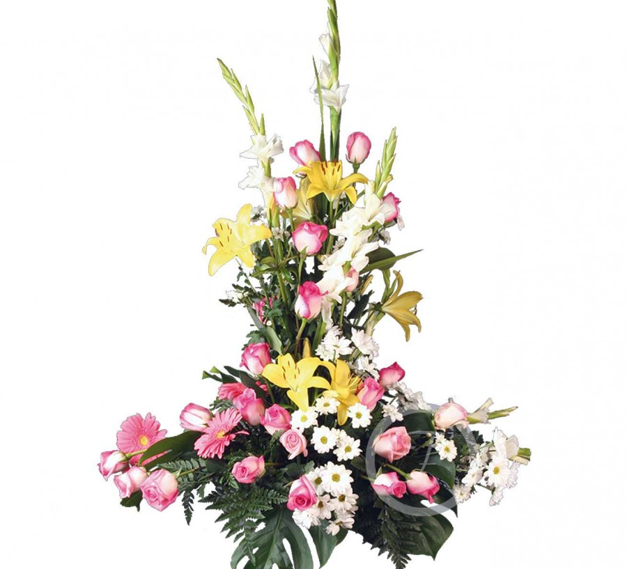 Centro Floral Funerario de Flores...
