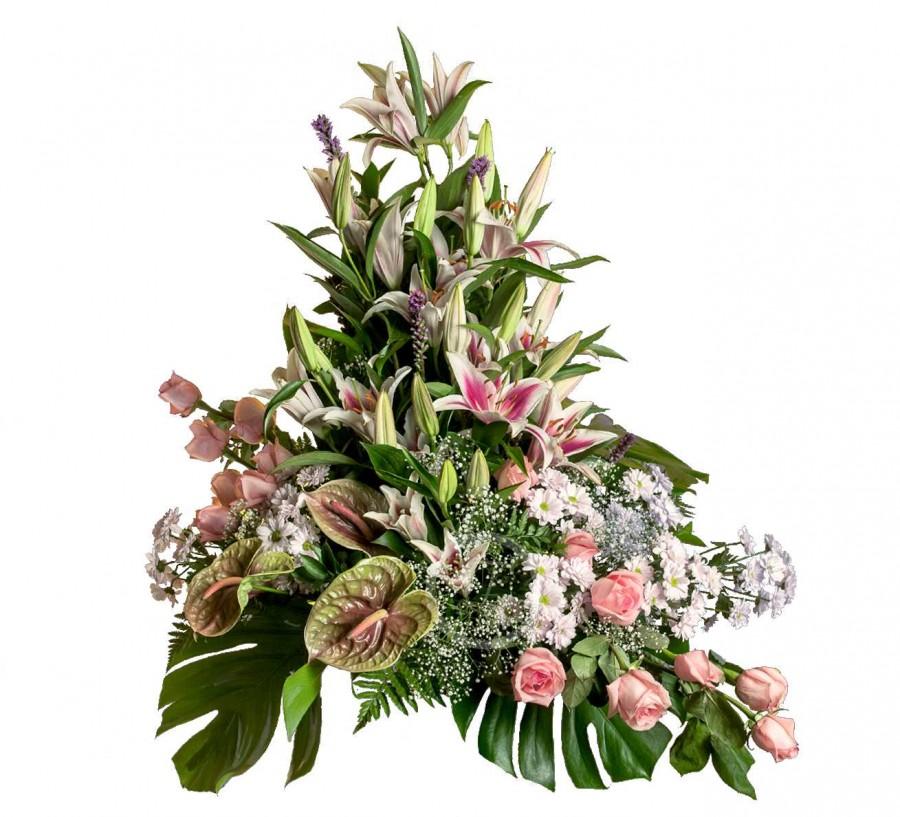 Centro Floral Fúnebre con Flores de...