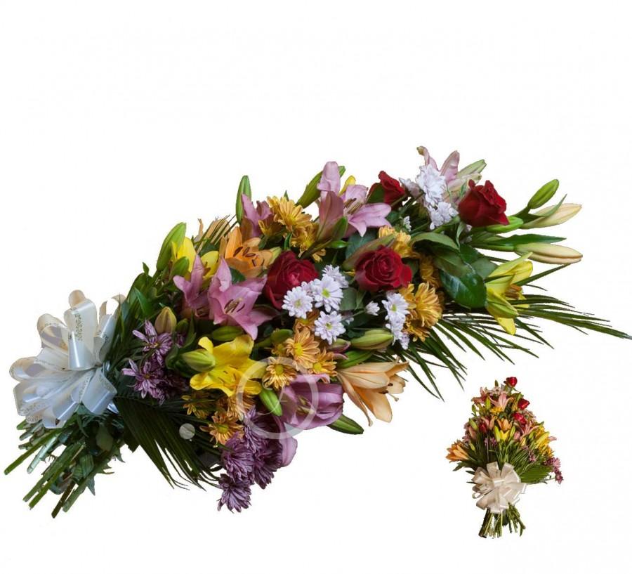 Ramo Funerario de Flores Silvestre
