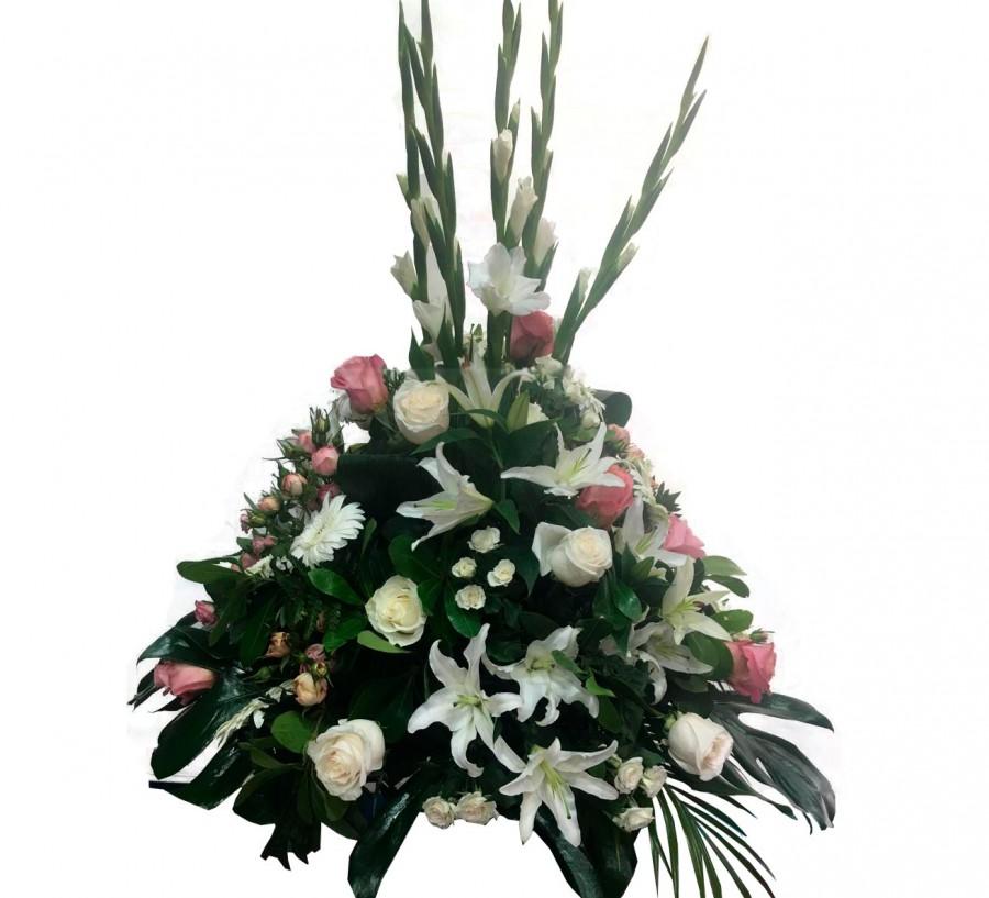 Centro Funerario de Flores Blancas y...